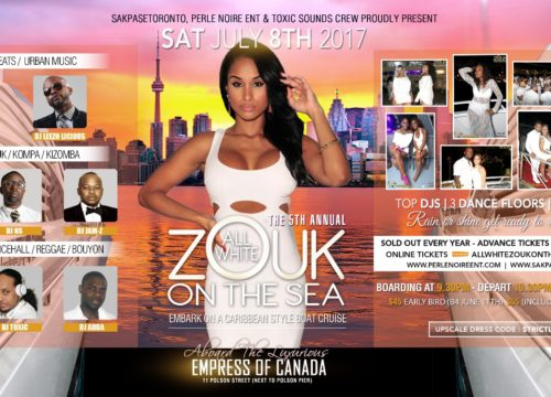 5th Annual All White Zouk On The Sea